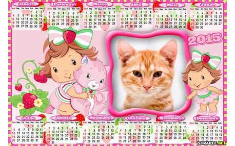 Moldura - Calendario Moranquinho Baby