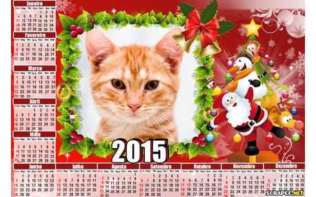 Moldura - Calendario De Natal 2015