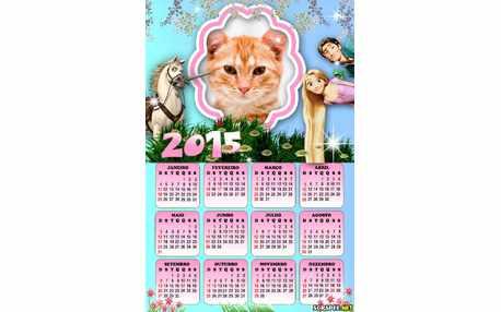 Moldura - Calendario Filme Enrolados