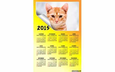 Moldura - Calendario Neutro 2015