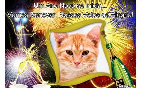 Moldura - Ano Novo