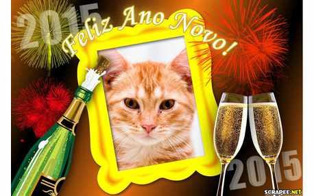 Moldura - Um Brinde Ao Ano Novo