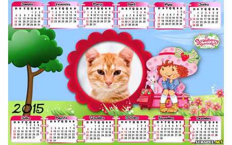 Moldura - Calendario 2015 Para Fotos Da Moranhinho
