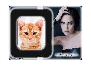 Moldura - Angelina Jolie