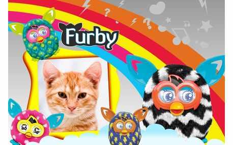 Moldura - Furby