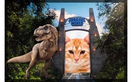 Moldura - Jurassic World 2015