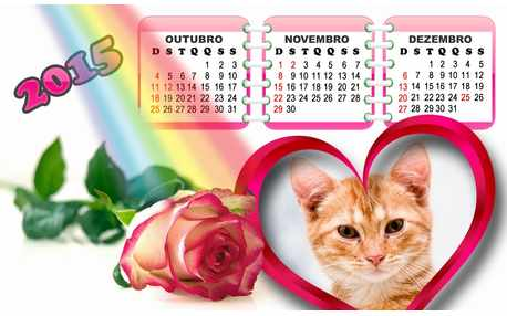 Moldura - Calendario Fim De 2015