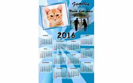 Moldura - Calendario Familia 2016