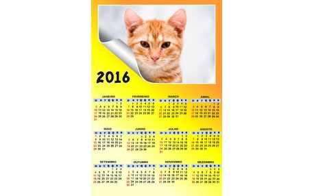Moldura - Moldura Calendario 2016