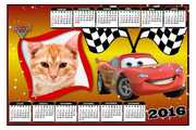 Calendario-2016-Cars-Carros