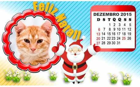 Moldura - Feliz Natal Dezembro 2015