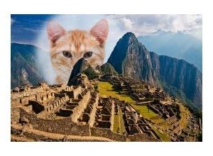 Moldura - Machu Picchu