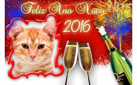 Moldura - Montagem Feliz Ano Novo 2016