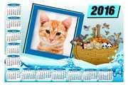 Calendario-2016-Arca-de-Noe-Animais