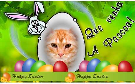 Moldura - Que Venha A Pascoa