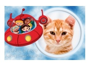 Moldura - Little Einsteins