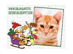 Moldura - Garfield Natal