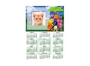 Calendario-Backyardigans
