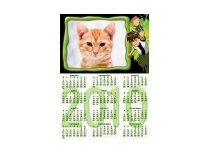 Moldura - Calendario Ben10