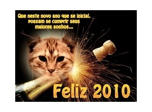 Moldura - Feliz 2010