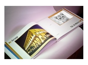 Photomontage foto no livro