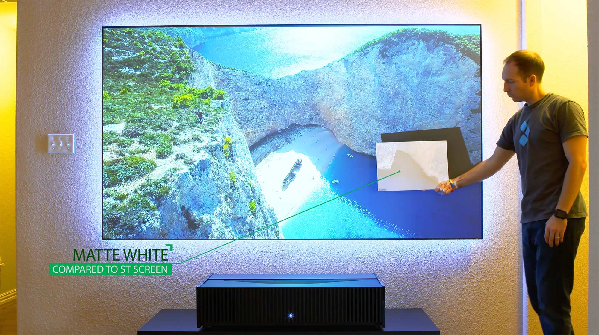 Sony vz100es ultra short throw projector