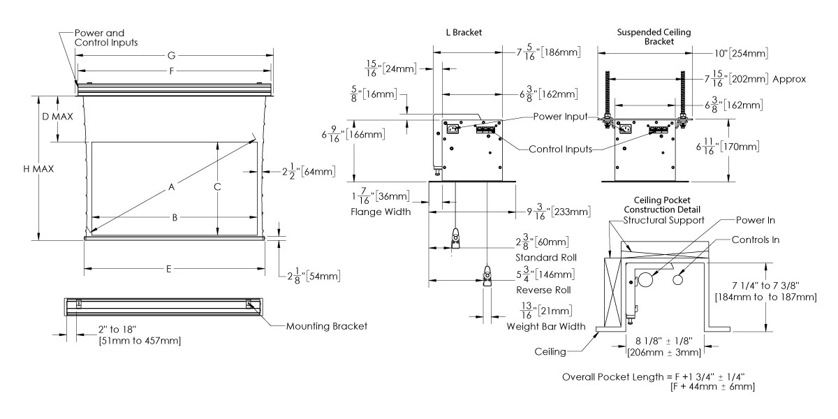 3-5 Moto Flush Compact Drawing