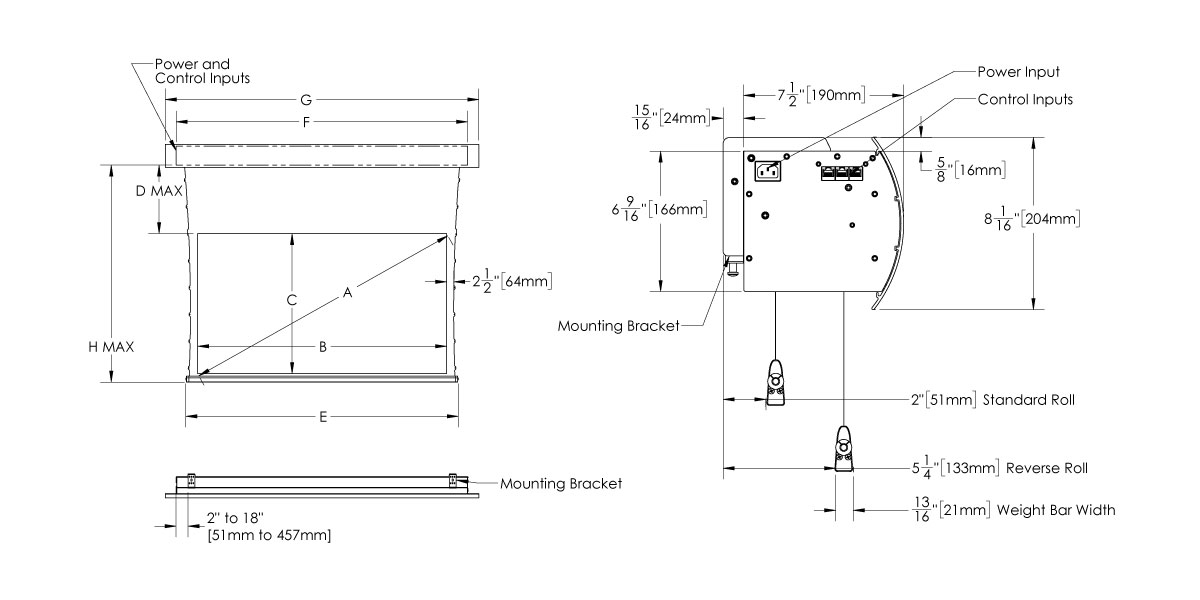 3-5 Moto External Compact Drawing