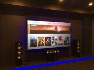 Atlanta Audio and Automation - 120-inch Zero Edge Black Diamond