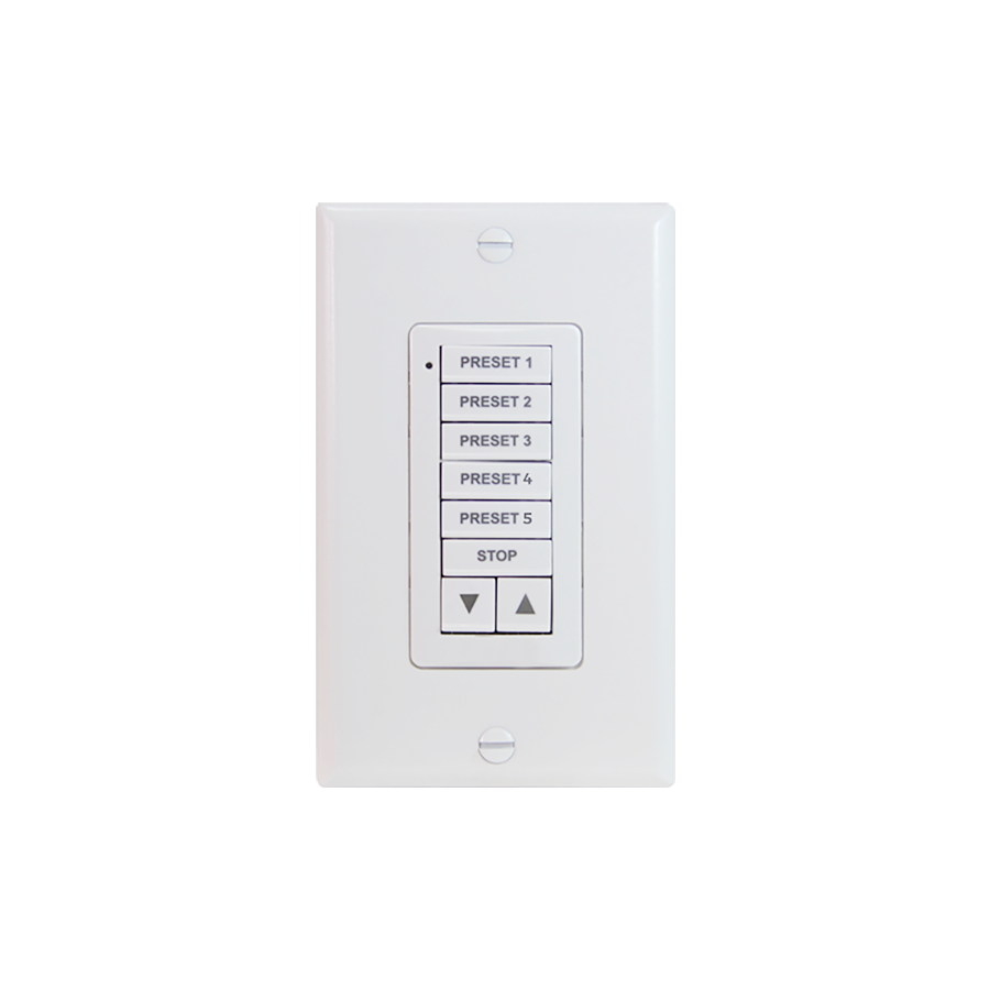 SDN DecoFlex Digital Keypad 8-Button - White
