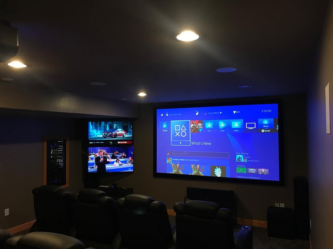 120-inch 5 Fixed Slate 1.2 - Sound & Vision Columbus