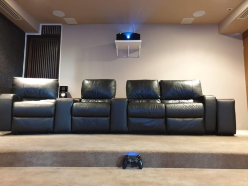 170-inch Zero Edge Pro Gaming Theater - Sound Decisions