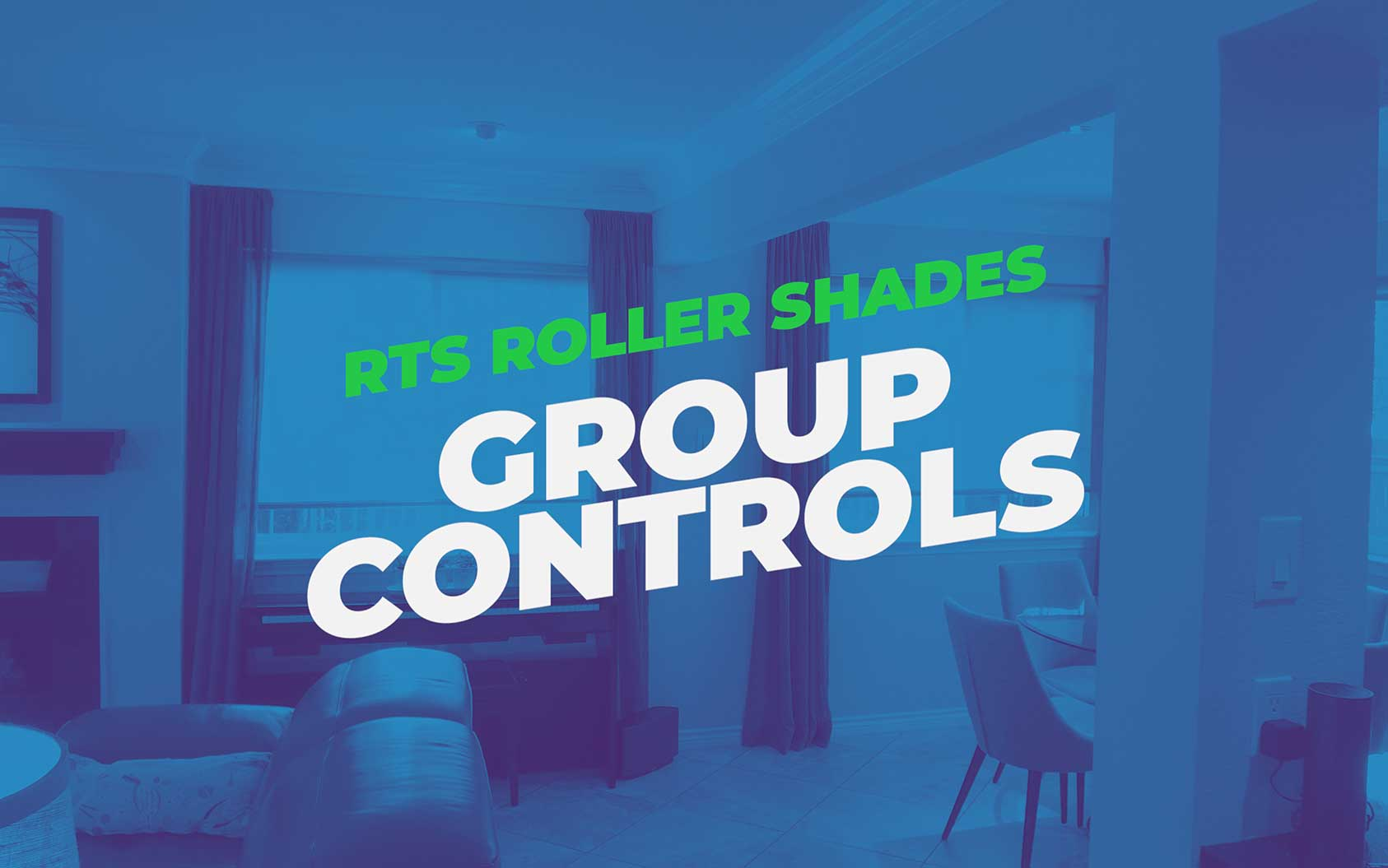 Setting Groups On RTS Roller Shades