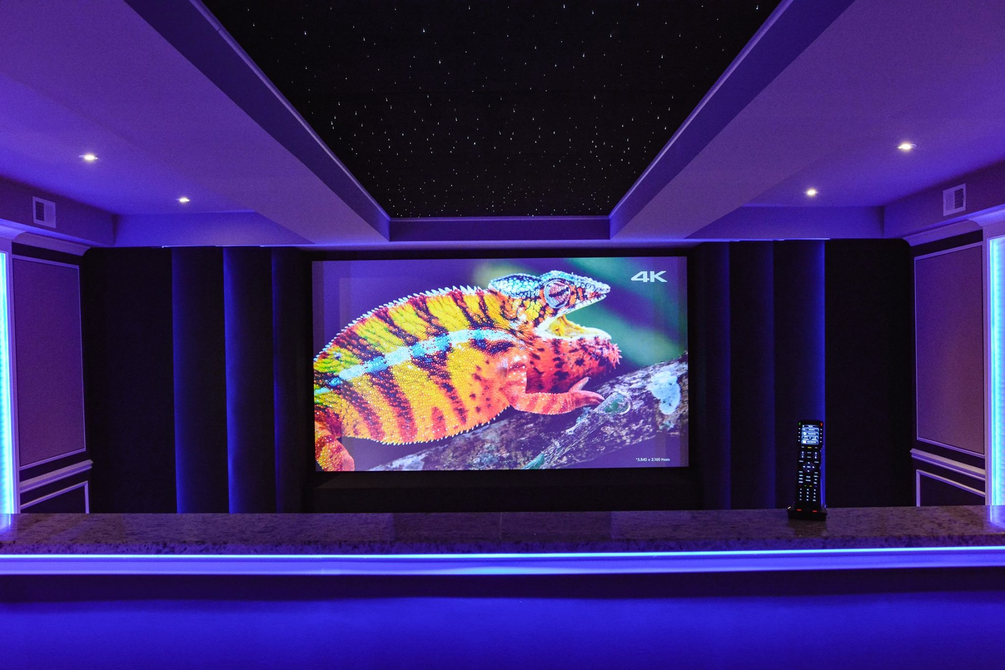 Custom Works Home Theater
