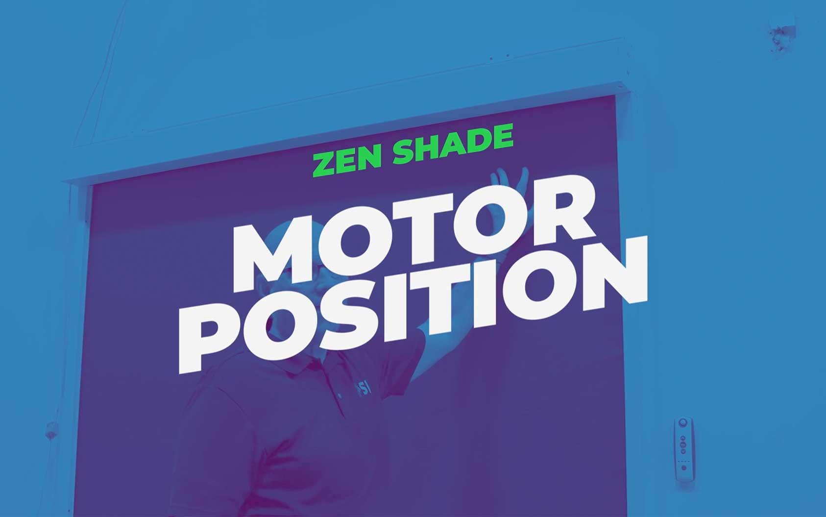 How to Determine Motor Position on Zen