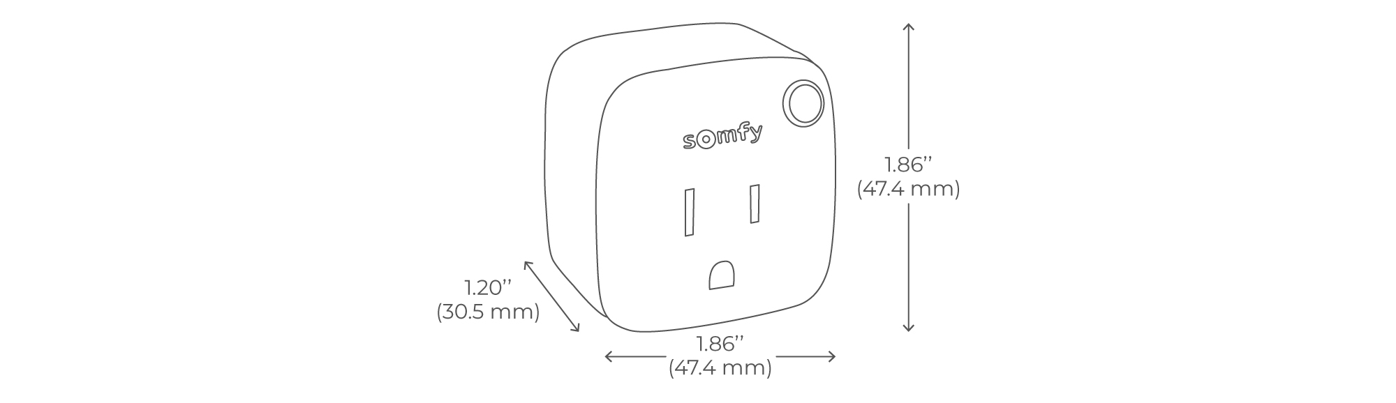 Smart Plug Spec Drawing