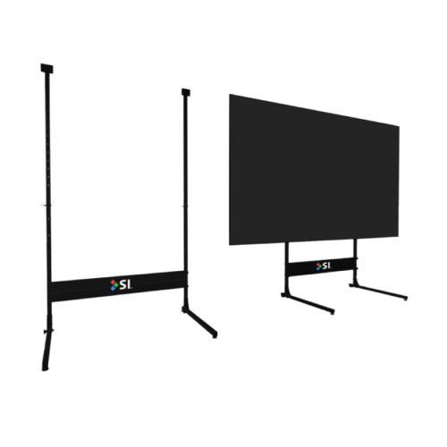 Zero Edge Projection Screen Stand