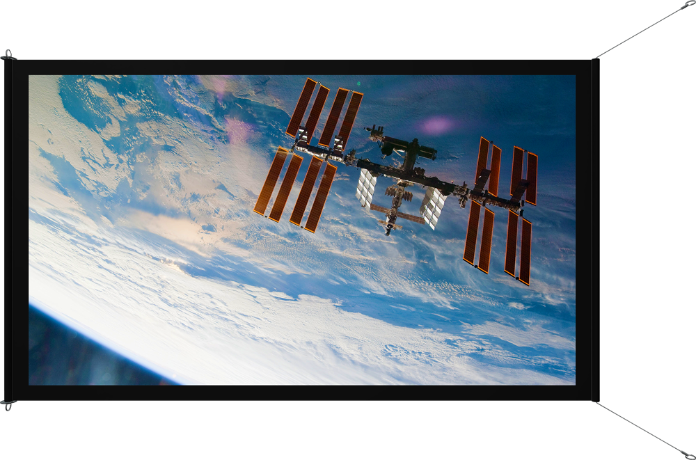 NASA ISS Viewscreen