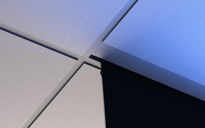 Solo Suspended Ceiling Brackets Installed default-thumb