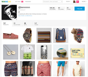 Wanelo Jobs : Screenshot