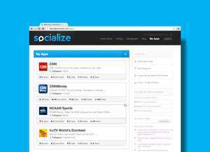 Socialize Jobs : Screenshot