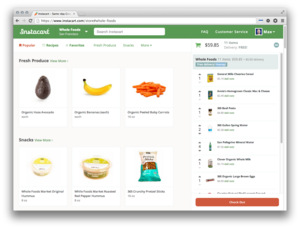 Instacart Jobs : Screenshot