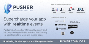 Pusher Jobs : Screenshot
