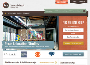 InternMatch Jobs : Screenshot