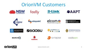 OrionVM Jobs : Screenshot