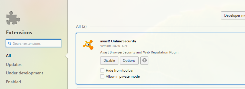how to add avast online security to my blog