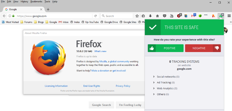 Avast Online Security browser extension gone- firefox