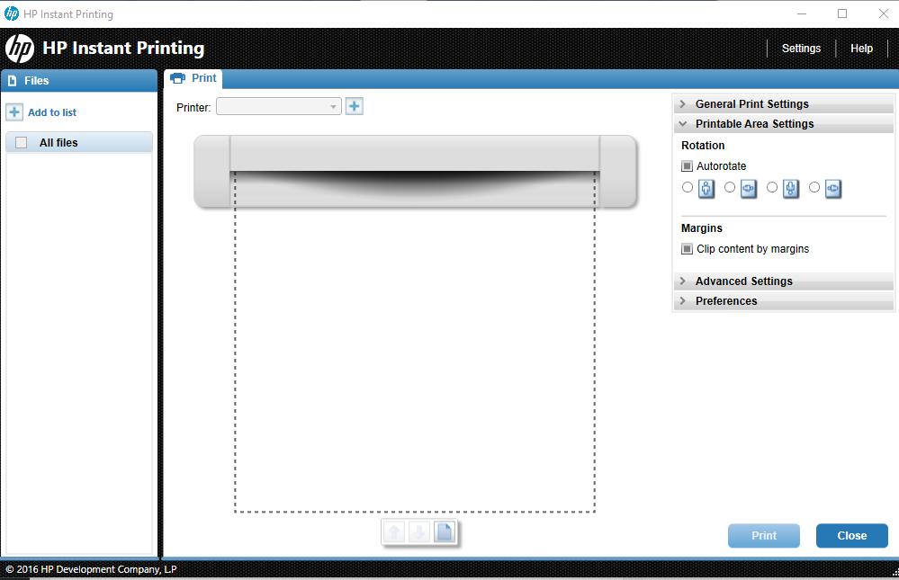 photo regarding Hp Printable identified as HP Instantaneous Printing - [Obtain]