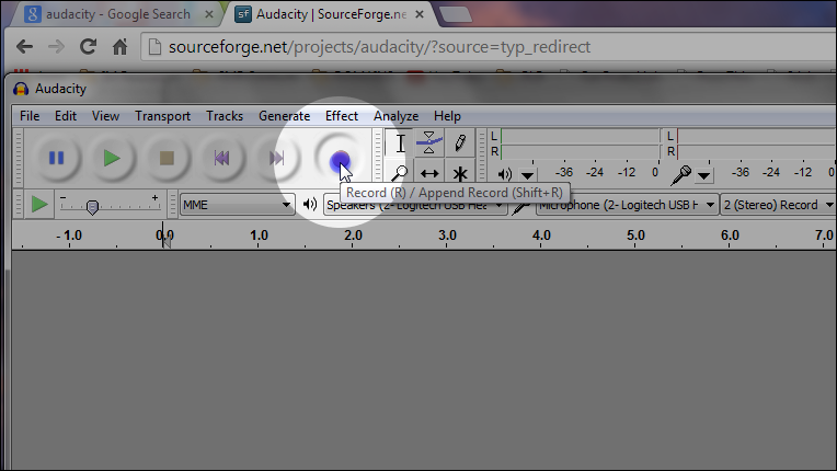 Download Audacity | Make An Audacity Audio Track | First