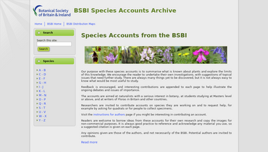 sppaccounts.bsbi.org.uk Screenshot